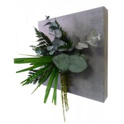 Tableau végétal stabilisé ECO coloris Béton