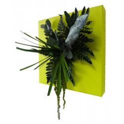 Tableau végétal stabilisé vert ECO