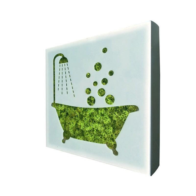 PICTO BAIGNOIRE Salle de bain - WEB42