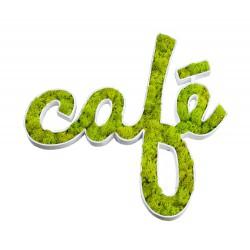 Decopatch CAFÉ en végétaux stabilisés