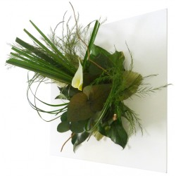 Tableau végétal stabilisé GLOSSY