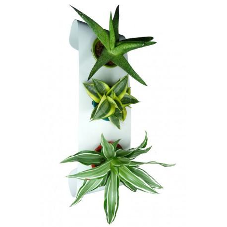 Support pour pot cermaique BEAN 3 blanc